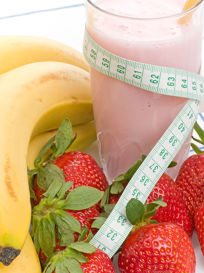 RS and Whey Protein smoothie helped weight loss