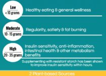 3 Levels of Resistant Starch Benefits