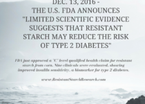 FDA Announces New Health Claim for Resistant Starch
